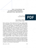Tandeter Historia Colonial en Argentina (1993)