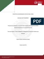 Izquierdo Quispe Patricia Rosario Propuestas