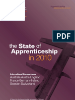 The State of Apprenticeships in 2010 - Report