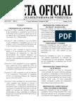 Gaceta Oficial N° 41.446 de fecha 25 de Julio de 2018 fue publicado el Decreto N° 3.547 de la Presidencia de la República