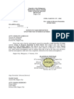 9. Take Deposition upon Written Interrogatories.doc