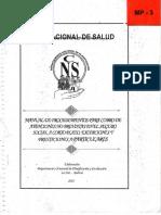 Manual de Procedimientos Para Cobros de Atenciones No Previstas en El Seguro Social a Corto Plazo Excepciones y Prestaciones Particulares