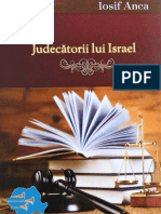 Iosif Anca - Judecătorii lui Israel
