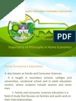 Home Economics Jen's Report
