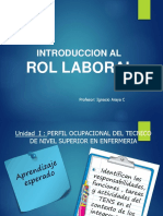 2° Unidad 2017-1  rol laboral2