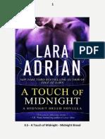 0.5 A Touch of Midnight - Lara Adrian.pdf