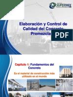 elaboracion y control de calidad del concreto premezclado