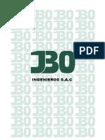 BROCHURE JBO INGENIEROS 2018
