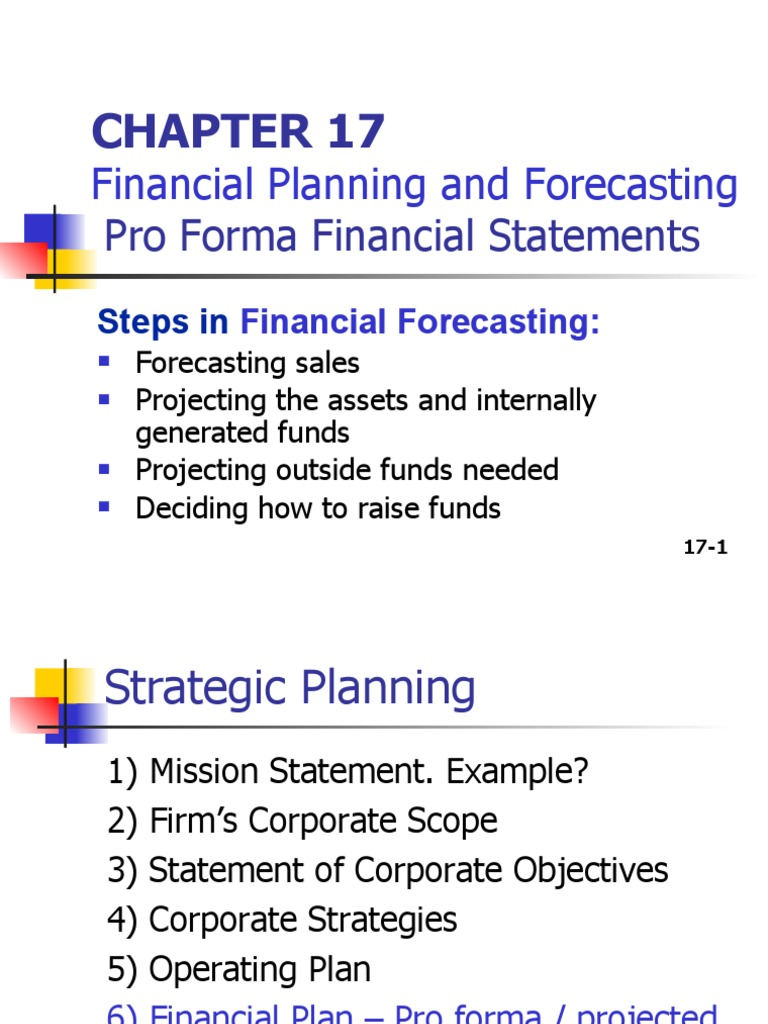 Chapter 17_Financial Planning & Forecasting   Economies