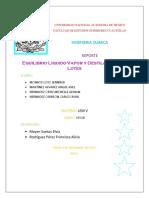Destilación Reporte