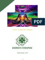 Terapia Dos Chakras - Curso Basico