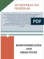 Bangko Sentral Ng Pilipinas REPORT