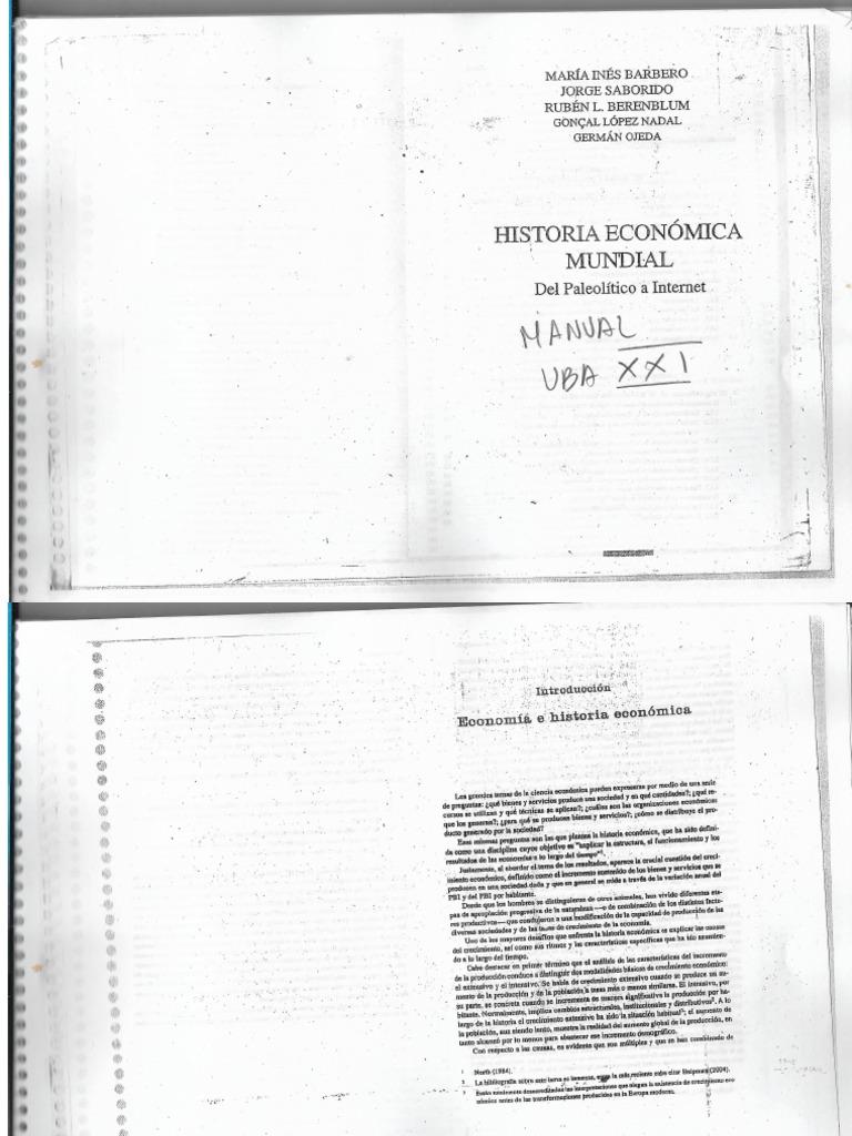 historia economica mundial del paleolitico a internet pdf gratis