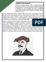 Enrique Lopez Albujar Biografia