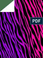 Pink & Purp Zebra PDF