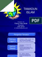 Bab 4 Islam Sebagai Peradaban Dan Tamadun