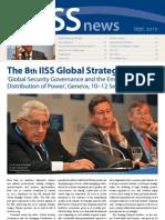 IISS Newsletter September 2010