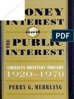 (Harvard Economic Studies) Perry G. Mehrling-The Money Interest and the Public Interest_ American Monetary Thought, 1920-1970-Harvard University Press (1998).epub