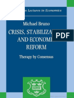 (Clarendon Lectures in Economics) Michael Bruno-Crisis, Stabilization, And Economic Reform_ Therapy by Consensus -Oxford University Press, USA (1993)