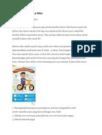 Manfaat Balance Bike Untuk Anak