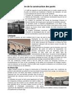 Histoire Des Ponts
