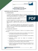 Memoria Descriptiva Y Especificaciones Tecnicas  Instalaciones Electricas