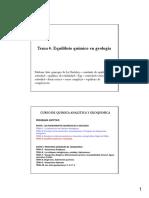 Tema 4 Equilibrio Quimico en Geologia Solubilidad Complejación [Modo de Compatibilidad]
