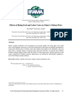 Effects of Rising Feed and Labor Costs