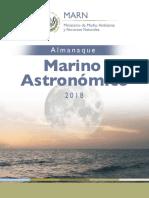 Almanaque Marino Astronomico 2018 El Salvador