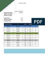 Agile Project Plan Template PT