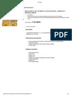 Broca Ingco Set de Broca 16 Piezas Metal, Concreto y Madera