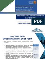 PPT Tratamiento de Inventarios Bajo NICSP - Jesus Capcha
