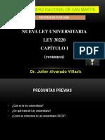 4ley 30220 Ley Universitaria Cap i