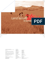 Land Tenure Stories in Central Mindanao