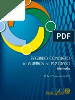 Segundo Congreso de Alumnos de Posgrado UNAM. Memoria