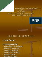 Direito Do Trabalho - Ufrn - 2018.2