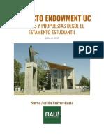 NAU_Informe Endowment UC