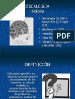 DISCALCULIA. TRABAJO COMPAÑERAS PSICOLOGIA UNAM