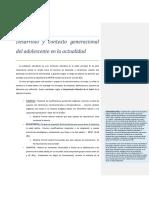 Desarrollo y Contexto Generacional Del Adolescente en La Actualidad