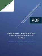Manual Eliminación de Antecedentes CHILE