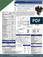 SW190 Catalogue Data Sheet