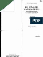 Desanti•Idéalités mathématiques
