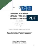 Guia Docente Mxtodos y Txcnicas Investigacixn Social