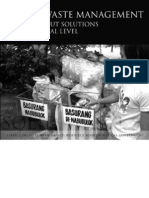 Solid Waste Management - Options and Solutions at the Local Level