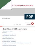 CoreCSDesignrequirements
