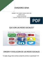 Redes Sociales Yury Rangel
