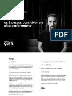 eBook 9 Passos Para Viver Em Alta Performance