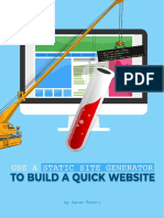 Use a Static Site Generator to Build a Quick Website