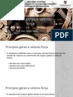 Aula 01 - Princípios Gerais e Vetores Força