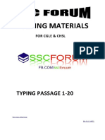 TYPING PASSAGE 1-20 BY SSC FORUM.pdf